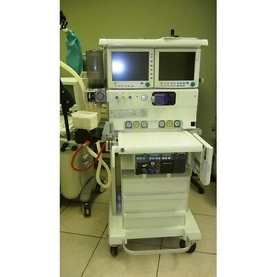 Datex Ohmeda Adu Anaesthetic Machine With As3 Monitor