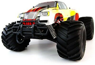 NEW 1/10 electric BRUSHLESS RC CAR MONSTER TRUCK 4WD OFFROAD 2.4GHZ RTR
