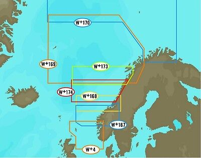 C-Map NT+ WIDE AREA for NORWAY , NORTHERN  EUROPE