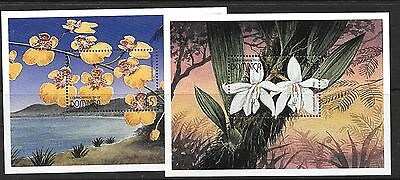 Dominica Sgms2290 1997 Orchids Of The Caribbean  Mnh