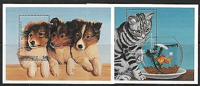 Dominica Sgms2277 1997 Cats & Dogs  Mnh