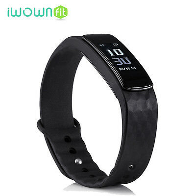 New Original IWOWN I3 HR Bluetooth Heart Rate Banda Inteligente Para Android IOS