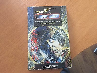 Doctor Dr Who Titan Paperback - The Scripts - Talons Of Weng Chiang - Rare!