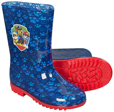 Paw Patrol Childrens Kids Boys Wellies Boots Chase Skye Different Sizes