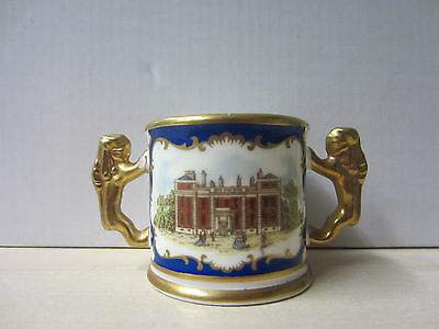 Paragon Royal Birthplaces Herrenhausen King George II Miniature Loving Cup