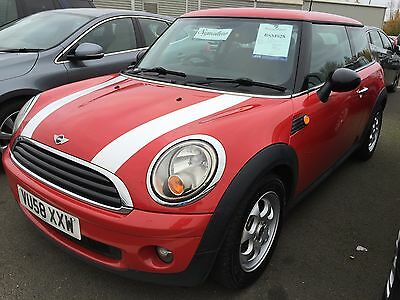 58/08 Mini One Red 1 Owner, Stunning Example, Fabulous Spec, Aircon, Alloys Etc