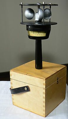 Vintage anemometer for boaters and boat owners