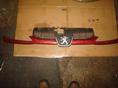 Peugeot 206 Front Grill Paint Code Ekq Fast Dispatch 1998-2006