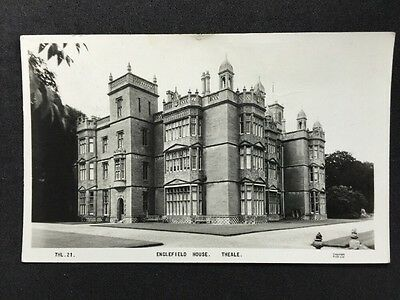 Vintage Postcard - Berkshire #21 - RP Englefield House, Theale By Friths