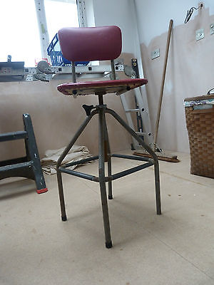 Retro Industrial Chic. Machinists chair