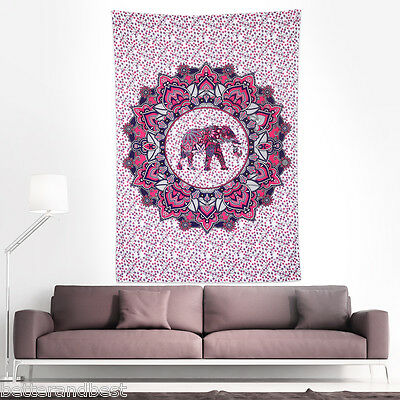 Indian Tapestry Wall Hanging Mandala Hippie Bohemian Cover Gypsy Bedspread Throw