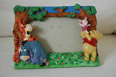 Disney Winnie the Pooh, Tigger, Eeyore & Piglet Photo Picture Frame