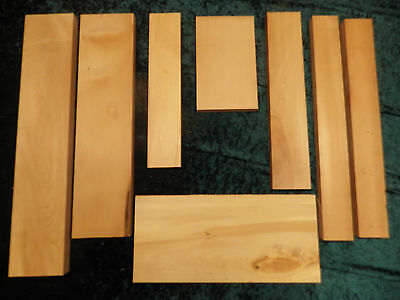 Huon Pine boards - Craft, box making, small projects. (8 pieces)