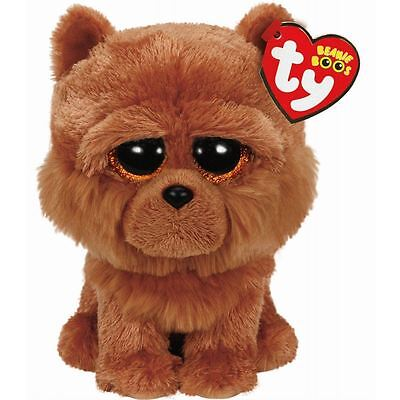 TY -  BARLEY THE DOG - Beanie Boos PLUSH - OFFICIAL - NEW