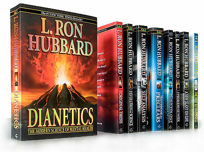 Dianetics & Scientology Beginning Books Package by L.Ron Hubbard 10 PB's + DVD