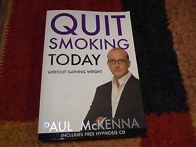 Quit Smoking Today: Without Gaining Weight by Paul McKenna Book + CD