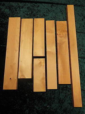 Huon Pine boards - Craft, box making, small projects. (7 pieces)