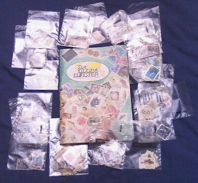 Job Lot of 500+ Stamps - UK and Rest Of The World