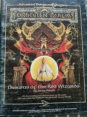 Dungeon & Dragons Forgotten Realms Dreams of the Red Wizards