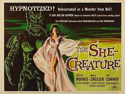 "The She Creature 16"" x 12"" Reproduction Film Poster Photograph"