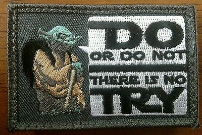 GORUCK Yoda Star Wars Do or Do Not Try Morale Patch 2x3 VERY HARD TO FIND