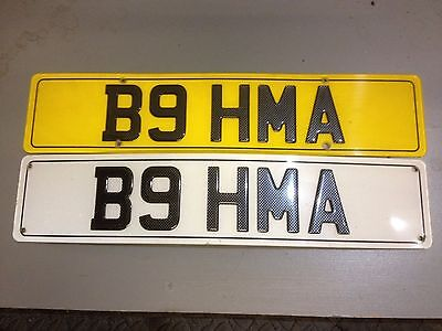 B9 Hma Cherished Number, Registration Plate, Private Number - For Quick Sale