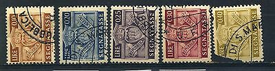 SAN MARINO 1945 POSTAGE DUE SG D310 & D312 to D315 Used