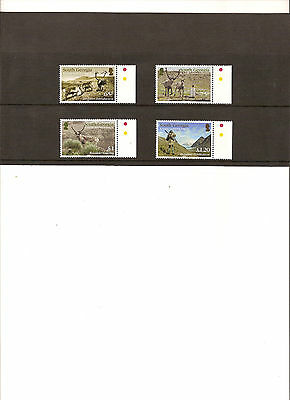 Falkland Is. S. Georgia 2014  History of Reindeer SG615/8 MNH Cat £10.50