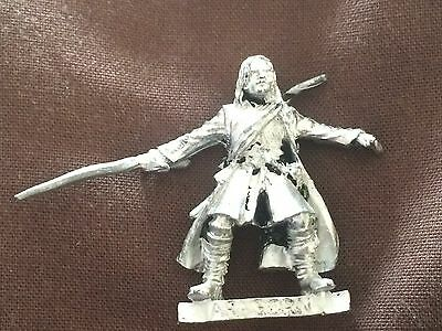 metal Aragorn Fellowship LOTR Lord of the ring Games Workshop
