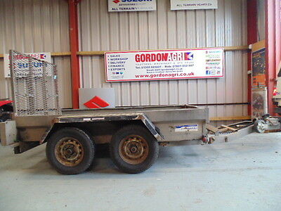 Indespension plant trailers Mini Digger