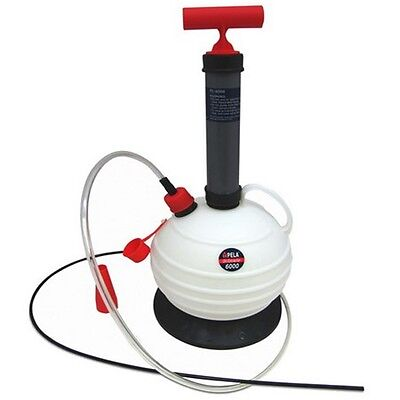 PELA 6000 Oil & Fluid Extractor Pump 6 Litre, Car, Bike, Boat, Mower