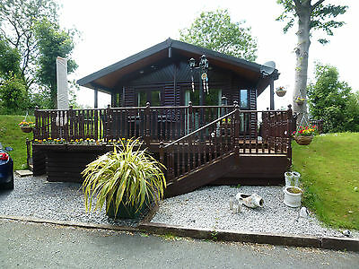 Luxury Timber Lodge/Chalet For Sale on Misty Waters Holiday Park