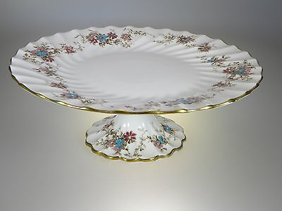 Crown Staffordshire Elizabethan Footed Cake Plate