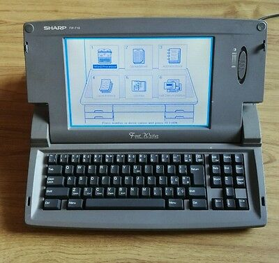 Sharp FW- 710 word processor  {excellent condition}