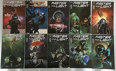 Faster Than Light - Issues #1-10 - Complete Set - 1,2,3,4,5,6,7,8,9,10 - Image