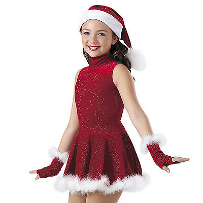 Ice skating dress Competition Figure Skating Baton Twirling Child Adult Holiday
