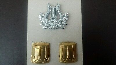 Original Corp Of Army Music Badge . Drummers Sleeve Badges.