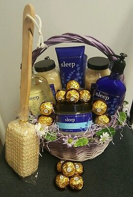 Mothers Day/Birthday/ANNIVERSARY  Gift Basket!! FREE THERAPEUTIC BEADS  EYE MASK