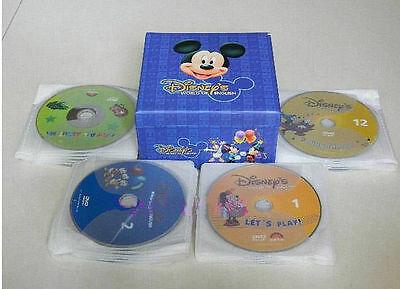 Disney World of English 48 DVD Box Set-FREE SHIP~Great way for kids to learn!