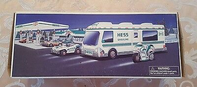 1998 Hess Collectible Recreation Van with Dune Buggy and Motorcycle NEW IN BOX
