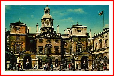 Mounted Life Guards Sentry Duty - Horse Guards London Brigade Of Guards Postcard