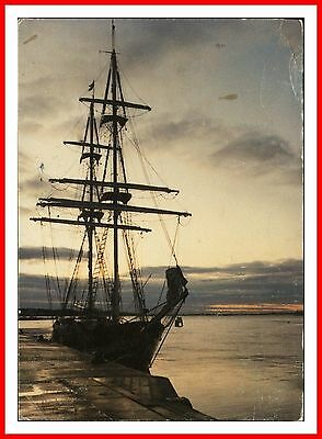Ts Royalist Brig Sail Training Ship Sea Cadet Marine Society Poole Quay Postcard