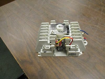 ASCO Lighting Contactor 917 82031 120V Coil 20A Used
