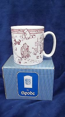 Spode - Winnie The Pooh Disney Collection - Pink Pooh Mug - Mint Boxed