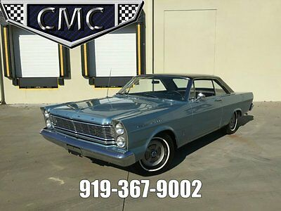 1965 Ford Galaxie  1965 Ford Galaxie 500 Fastback, 352 V8, A/T, 30k miles  AACA 1st place winnner