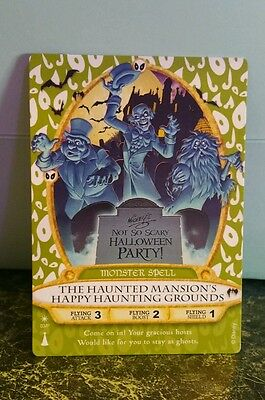 Sorcerers of the Magic Kingdom Halloween Party Card 03P Haunted Mansion