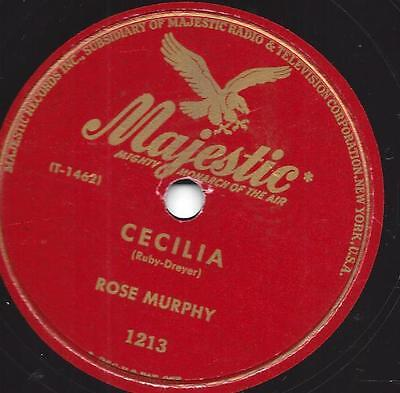 Rose Murphy : auf Majestic Label :  Miss Annabelle Lee + Cecilia