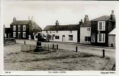 Postcard of the Green, Skipsea. east Yorkshire