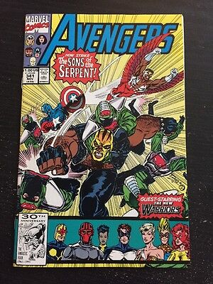Avengers#341 Incredible Condition 9.4 New Warriors App(1991) Rage!!