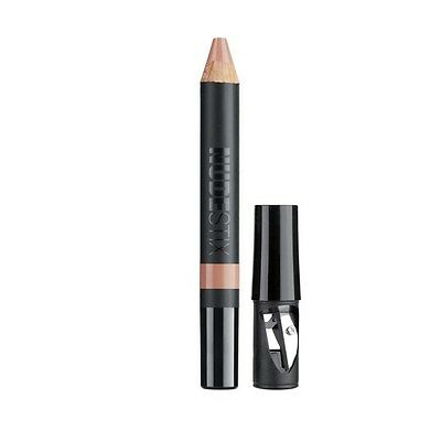 New Boxed Nudestix Matte Lip and Cheek Pencil - Whisper with Sharpener & tin box